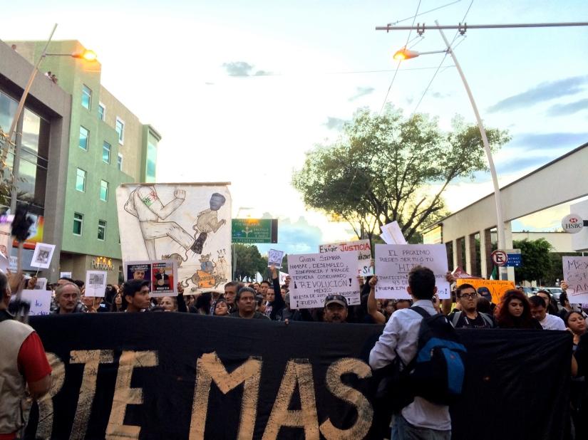 Ante La Represión, La Organización: Estudiantes JalisciencesPresentes