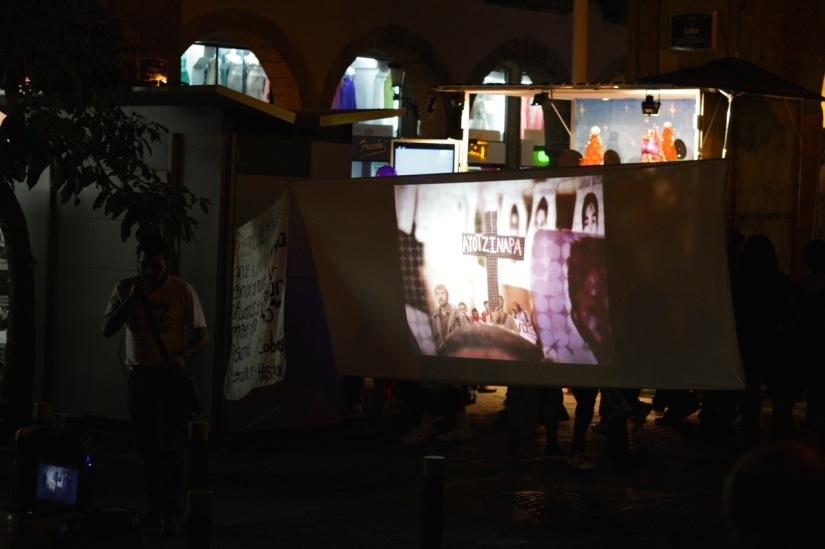 No Se Olvida: Recollections of an event for Ayotzinapa inGuadalajara